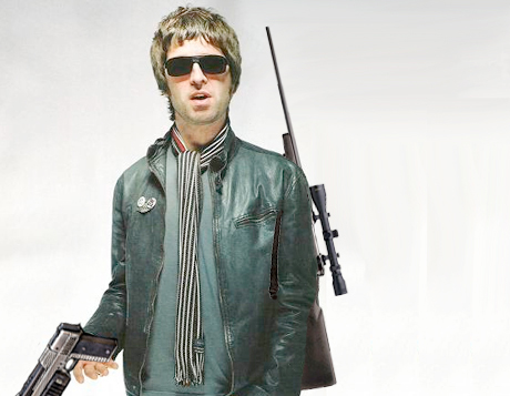 Noel Gallagher Gets Trigger Happy
