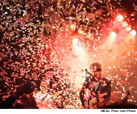 OK Go / Earl Greyhound / The Booze Mod Club, Toronto ON April 23