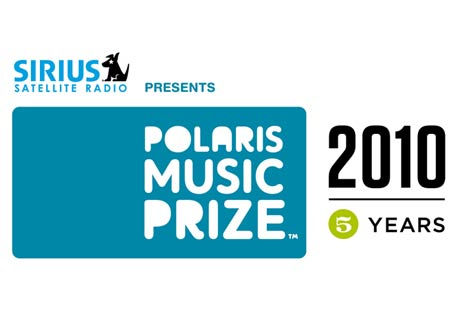 The Polaris Music Prize Announces 2010 Schedule