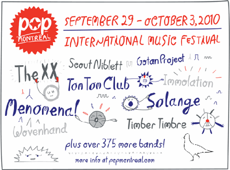 Pop Montreal Adds the XX, Tom Tom Club, Solange, Menomena to 2010 Line-Up