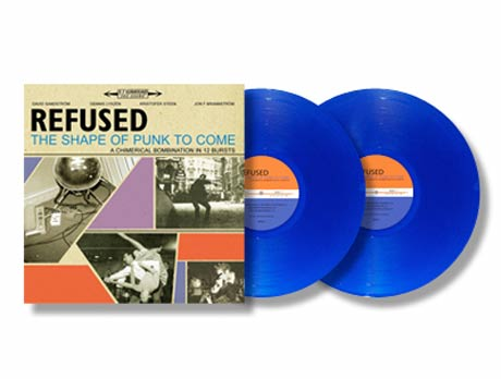 Refused's <i>The Shape of Punk to Come</i> Gets Limited Blue Vinyl Pressing