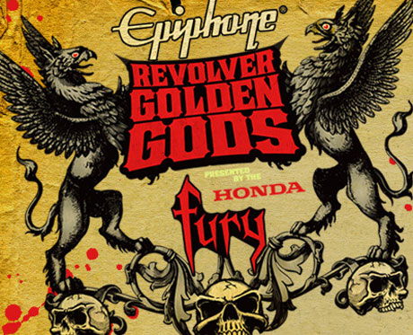 Isis, Metallica, Slipknot Winners At the Epiphone Revolver Golden Gods Awards
