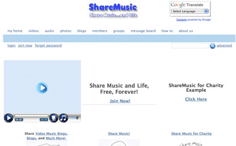 ShareMusic Looks To Offer Free Music For Charity