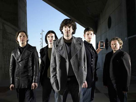 Snow Patrol Custom Design Album For iPhone, iPod Touch