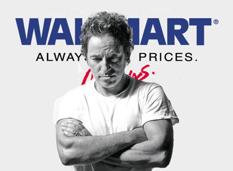 """Bruce Springsteen Calls WalMart Deal """"A Mistake"""""""