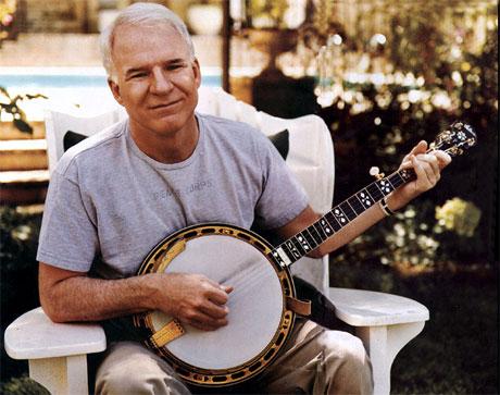 Steve Martin Releases New Banjo Album