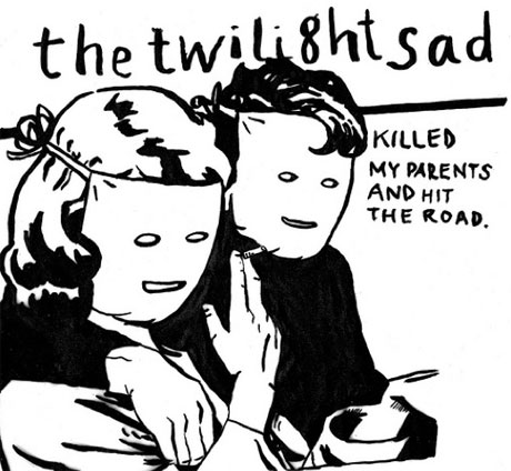 The Twilight Sad Release Tour EP, Cover YYY, Joy Division and the Smiths