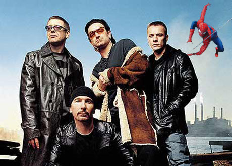 U2 Writing New Music for <i>Spiderman: The Musical</i>