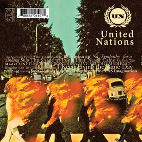 United Nations Refused Distribution Over Album Cover