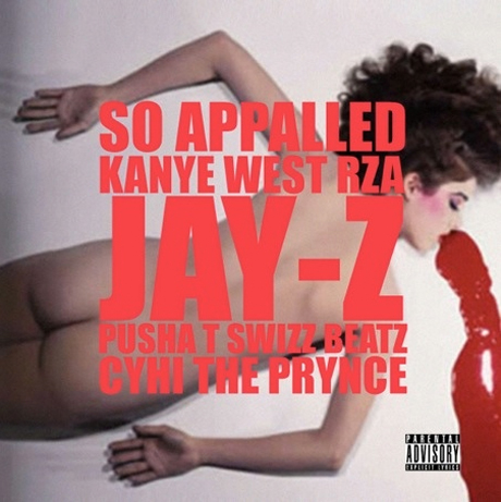 """Kanye West """"So Appalled"""" ft. Jay-Z, Pusha T, Swizz Beatz, Cyhi the Prynce"""