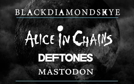 Alice in Chains, Deftones and Mastodon Announce Blackdiamondskye Tour Dates