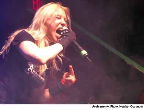 Arch Enemy / Exodus The Phoenix, Toronto ON January 27
