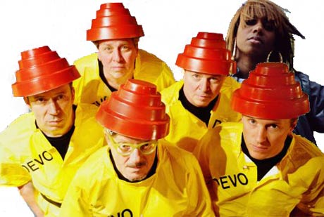 Santigold Producing Tracks for Devo