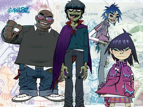 Gorillaz Team Up with Graphic Novelist Alan Moore