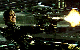 The Matrix Reloaded Larry and Andy Wachowski