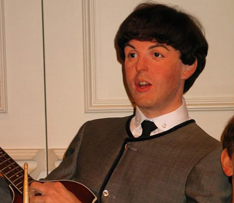 Paul McCartney's Wax Head Found