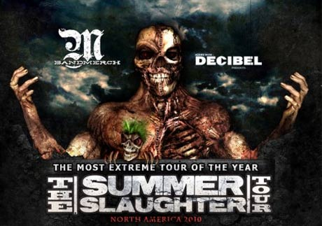 Decapitated to Headline North America's 2010 Summer Slaughter Tour