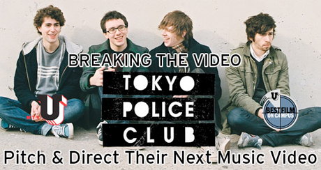 Tokyo Police Club Call On Slacker Students To Make New Video