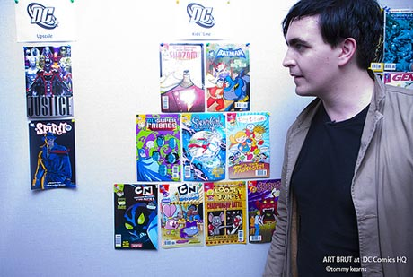 Art Brut Go Behind the Scenes of DC Comics