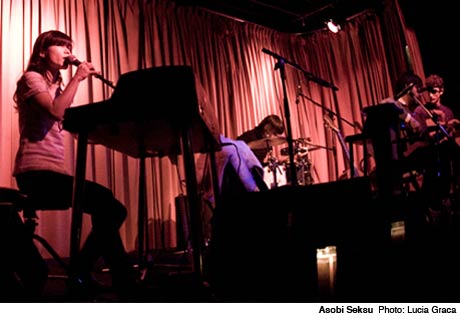 Asobi Seksu The Drake Hotel, Toronto ON February 1