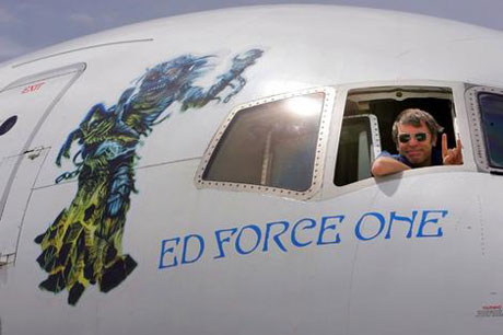 Iron Maiden's Bruce Dickinson Flies Home Stranded Vacationers