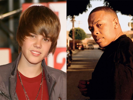 "Justin Bieber ""Hyped"" After Making Beats with Dr. Dre"