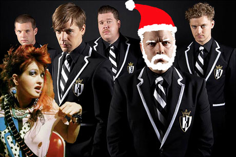 The Hives and Cyndi Lauper Team Up for Xmas Song