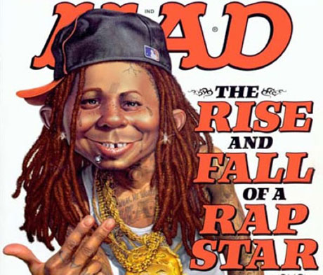 Lil Wayne Release Another Mixtape Today, Spoofed By <i>MAD</i>