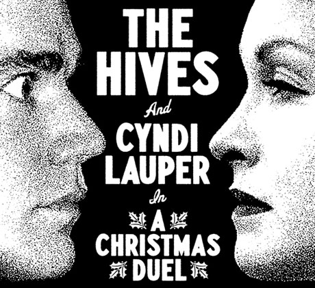 "The Hives and Cyndi Lauper ""A Christmas Duel"""