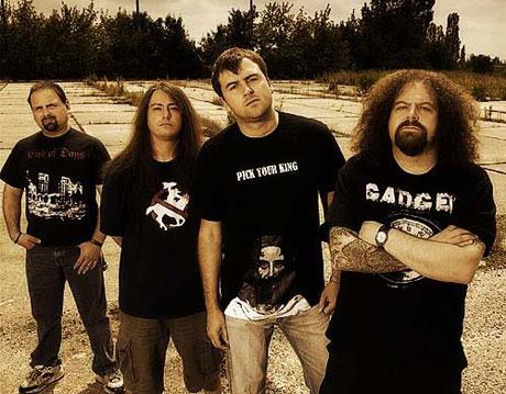 "Napalm Death's Mark ""Barney"" Greenway"