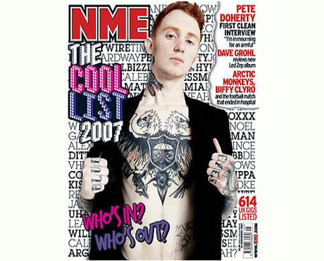 "<i>NME</i> Publishes Its ""Cool List"""