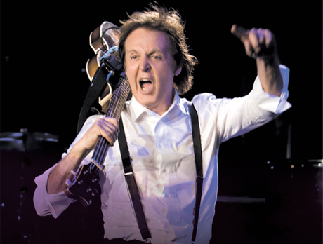 "Paul McCartney Recording Collection of Pop Standards, Planning ""Heavy Rock Album"""