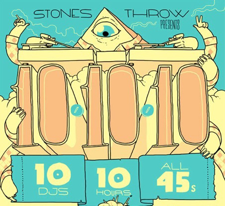 Stones Throw Records Celebrates Tenth Anniversary with Box Set, Ten-Hour Party