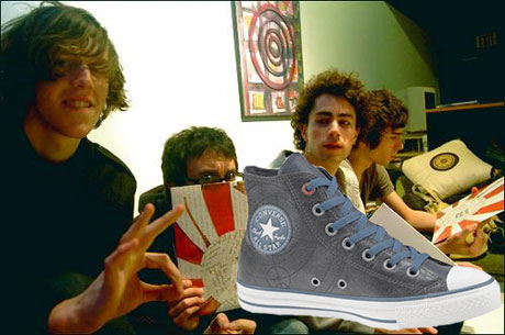 Tokyo Police Club Design Own Pair of Converse All-Stars