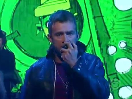 "Gorillaz ""Rhinestone Eyes"" / Full 45-Minute Concert (live on <i>Letterman</i> video)"