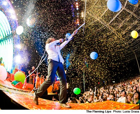 The Flaming Lips / Spoon / Tokyo Police Club / Fang Island Molson Canadian Amphitheatre, Toronto ON July 8