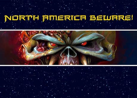 Iron Maiden Reveal <i>The Final Frontier</i>, Canada/U.S. Tour