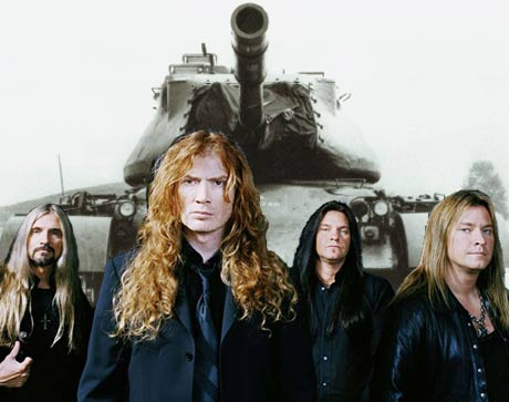 Police Halt Megadeth Video over Tank Use