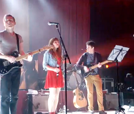 Belle and Sebastian 'Lazy Line Painter Jane' (ft. Jenny Lewis) (video)
