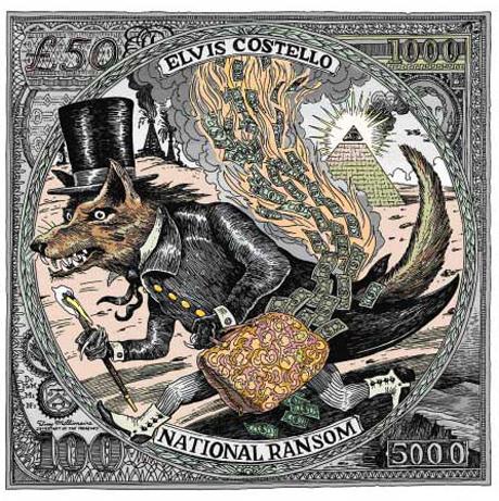Elvis Costello Names New LP <i>National Ransom</i>, Unveils Album Cover