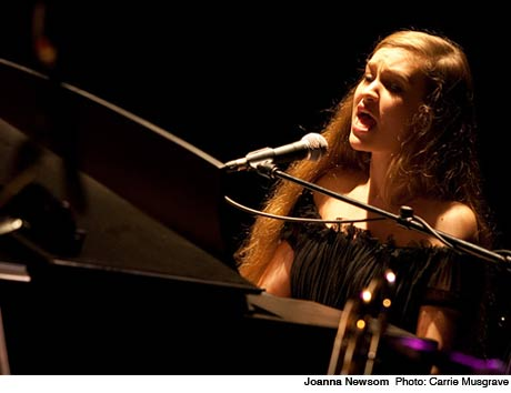 Joanna Newsom Books West Coast Tour, Plays Vancouver
