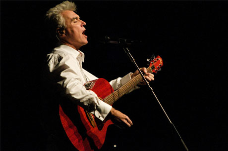 David Byrne Queen Elizabeth Theatre, Vancouver BC February 21