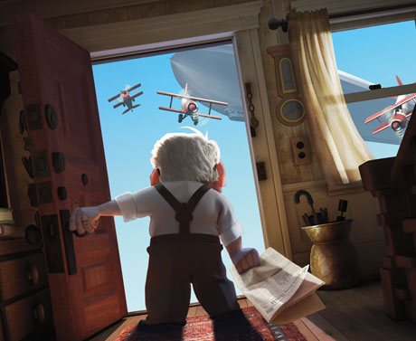 Pixar Reveals Early Look At <i>Up</i>