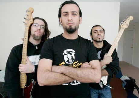 <i>Heavy Metal in Baghdad</i>'s Acrassicauda Team Up with Vice for Debut EP