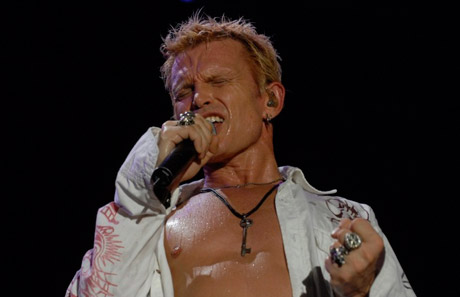 Billy Idol In Super Overdrive Live
