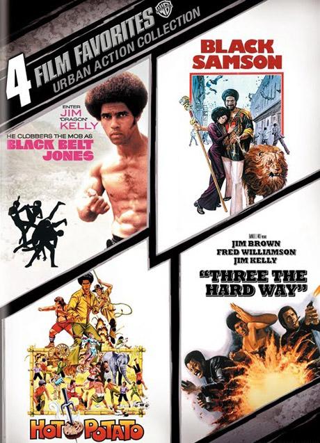 Black Belt Jones / Hot Potato / Black Samson / Three The Hard Way Robert Clouse; Oscar Williams; Charles Bail; Gordon Parks Jr.