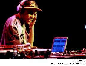 Adam F vs. DJ Craze Commodore Ballroom, Vancouver BC - March 6, 2003