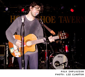 Folk Implosion / Mia Doi Todd / Alaska Horseshoe Tavern, Toronto ON - March 15, 2003