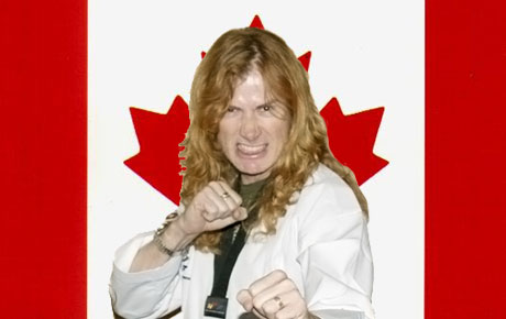 Megadeth's Dave Mustaine Reveals His Canadian Roots