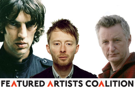 Radiohead, The Verve, Bragg And More Join Featured Artists' Coalition, Fight For Musicians' Rights
